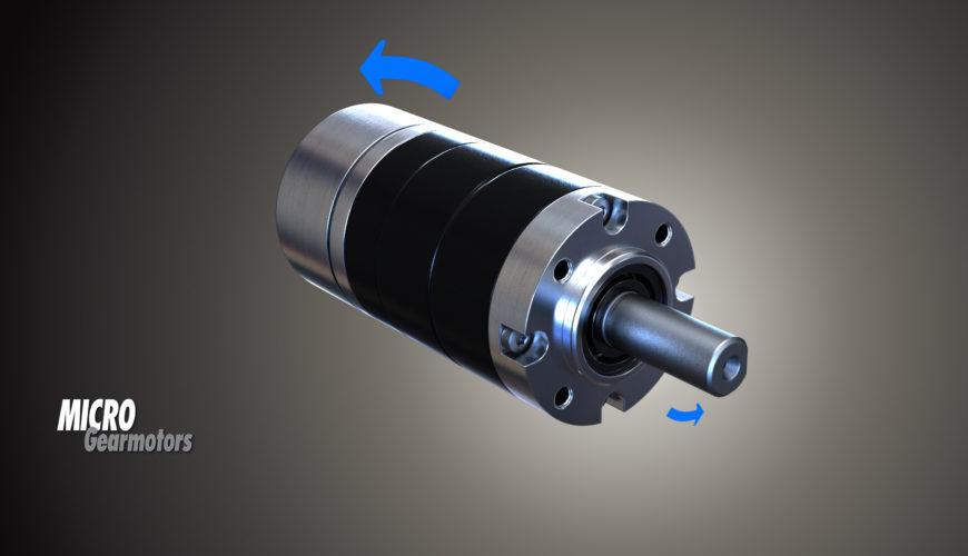 Motore brushless CC con rotore esterno - Flat BLDC