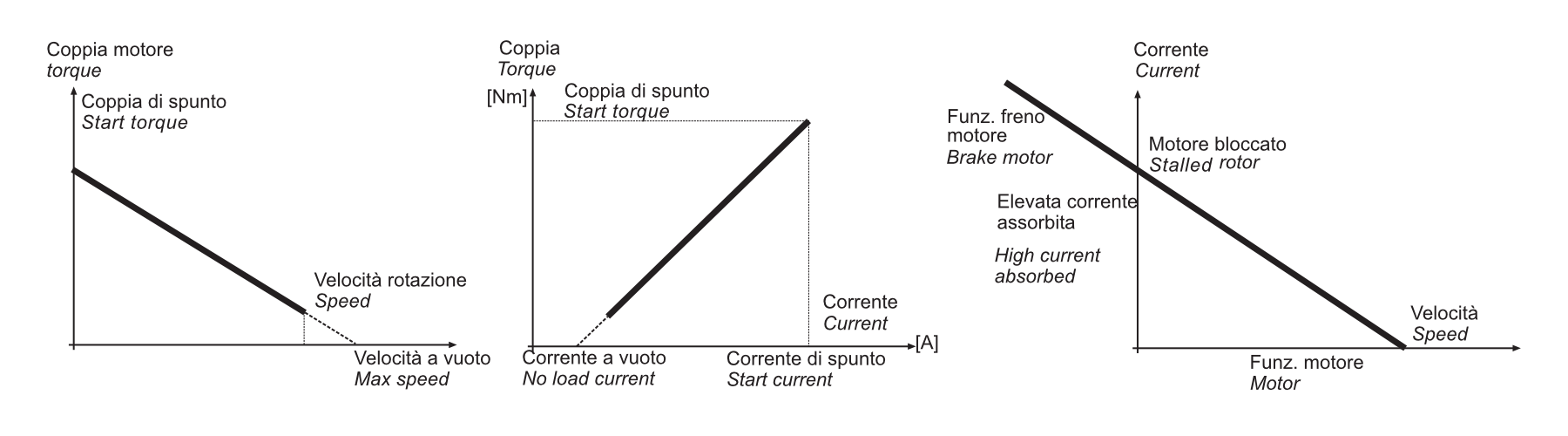 grafico coppia motrice